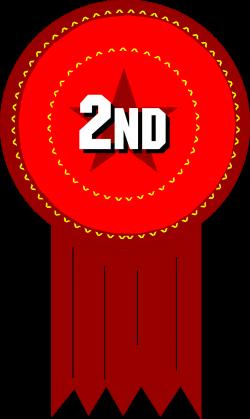 Award   Free Stock Photo   Illustration of a 2nd place ribbon   # 8249