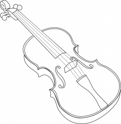 Violin Line Drawing at GetDrawings.com | Free for personal use ...