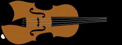 Clipart - Violin