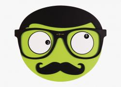 Moustache Clipart Square Glass - Mustache, Cliparts ...