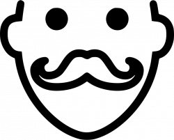Mustache Svg Png Icon Free Download (#431643) - OnlineWebFonts.COM
