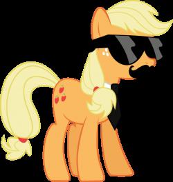 Mane Six Got Swag: Applejack by l0gun on DeviantArt