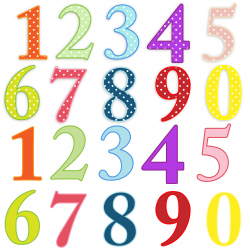 Numbers Colorful Clip-art Free Stock Photo - Public Domain Pictures