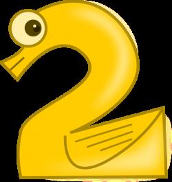 Animal Number Two Clip Art at Clker.com - vector clip art online ...