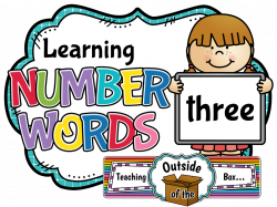 Teaching Outside of the Box...: Learning Number Words