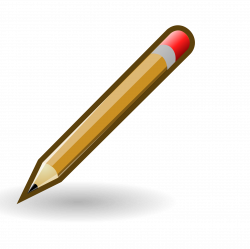 Pencil clipart small - Pencil and in color pencil clipart small