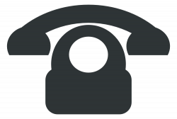 OnlineLabels Clip Art - Phone Icon Flat