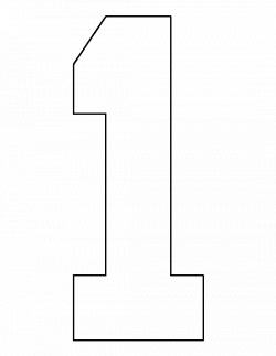 Number 3 Clipart Printable Stencil Picture 1756061 Number 3 Clipart Printable Stencil