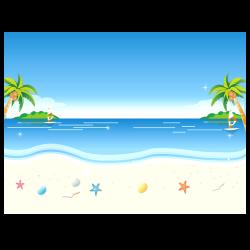 Beach Animation Cartoon Clip art - Background beach cartoon ...