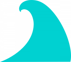 Ocean Wave Clip Art at Clker.com - vector clip art online, royalty ...