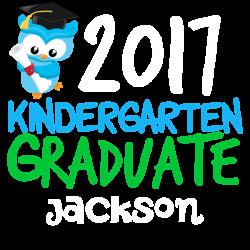 2017 Kindergarten Graduate T by giftsofgrace