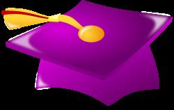 Purple Graduation Cap Clip Art | Clipart Panda - Free Clipart Images
