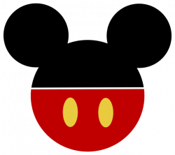 Mickey Mouse Ears Clipart : Basic Coloring Pages Ideas - Basic ...