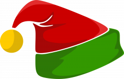 Elf Hat Clipart - Clipart Vector Design •