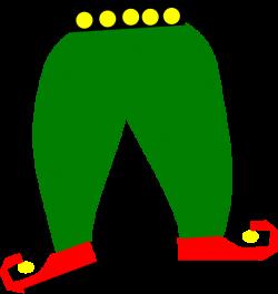 Elf Pants With Shoes Clip Art at Clker.com - vector clip art online ...