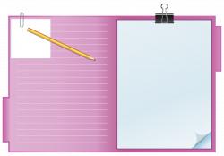 28+ Collection of Pink Clipboard Clipart   High quality, free ...