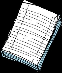 clipart paper pile of paper hi - Clip Art. Net