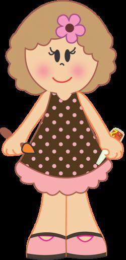 BONECAS(OS)& MENINAS(OS) | Dolls | Pinterest | Clip art, Filing ...
