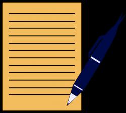 pen paper write - /education/supplies/pen_ink/pen_with_paper ...