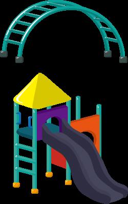 Amusement park Cartoon Playground - Toy children's playground ...