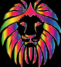 Rainbow clipart lion ~ Frames ~ Illustrations ~ HD images ~ Photo ...