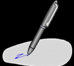 Clipart - Pen