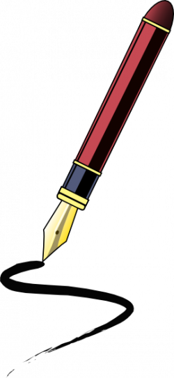 Ink Pen Clip Art at Clker.com - vector clip art online, royalty free ...