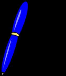 Blue Pen Clipart