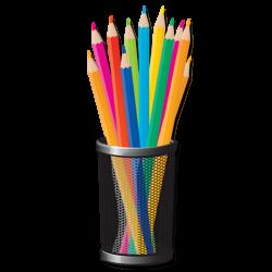 Colored pencil Crayon Clip art - Hand-painted cartoon pen 1967*1967 ...