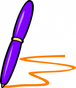 Pen Clipart purple pen - Free Clipart on Dumielauxepices.net