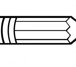 Clipart Pen Horizontal – Graphics – Illustrations – Free ...