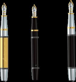 Fountain pen Clip art - Expensive pens 1569*1682 transprent Png Free ...