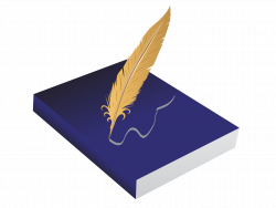 Drawing Feather Clip art - Book quill 2679*2020 transprent Png Free ...