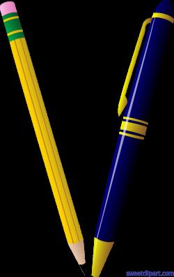 Pencil Pen Clip Art - Sweet Clip Art