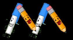 Image - Pencil Pen M.png | Object Shows Community | FANDOM powered ...