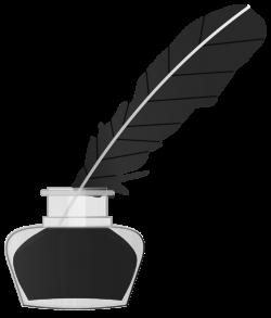 Quill Feather Pen Clipart - ClipartBlack.com