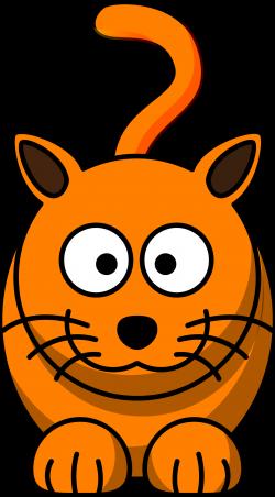 Big Cat clipart animated cat - Pencil and in color big cat clipart ...