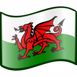 Wales clipart - Pencil and in color wales clipart
