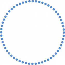 Circle clipart dotted - Pencil and in color circle clipart dotted