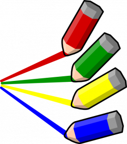 Color Pencil Stripes Clip Art at Clker.com - vector clip art online ...