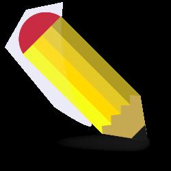 File:Pencil clipart.svg - Wikimedia Commons