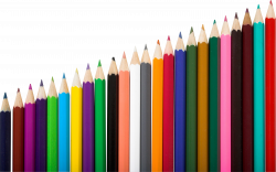 Pencils Six | Isolated Stock Photo by noBACKS.com