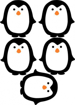 penguin printable   wrapping   Penguins, Penguin birthday ...