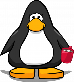 Hot Chocolate clipart penguin - Pencil and in color hot chocolate ...