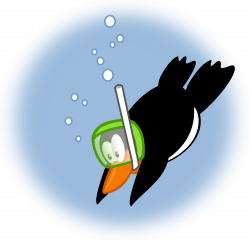 File:Penguin diving2 by mimooh.svg - Wikimedia Commons