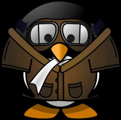 Penguin Pilot Clip Art at Clker.com - vector clip art online ...