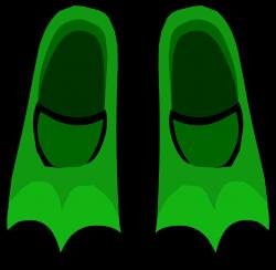 Green Flippers | Club Penguin Rewritten Wiki | FANDOM powered by Wikia