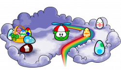 Image - Easter Egg Cloud.png | Club Penguin Wiki | FANDOM powered by ...