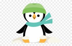 Penguin Clipart File - Christmas Penguin Cut Out - Png ...