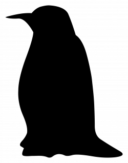 Clipart - Silhouette - penguin